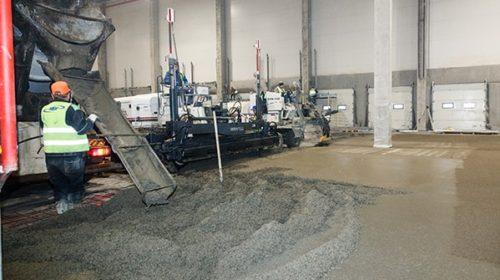 Приемка и укладка бетонной смеси