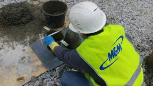 Подборка бетонной смеси