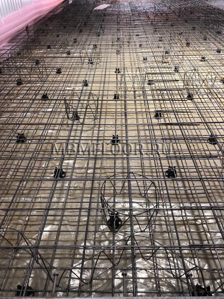 Двойное армирование бетона завод бетон в гатчине